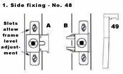 Side Fixing - No. 48